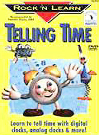 Rock 'N Learn:Telling Time, Good DVD, Rock 'N Learn, Richard Caudle