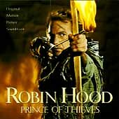 Warner Bros.™ ROBIN HOOD Original Soundtrack Album RARE VINTAGE CD