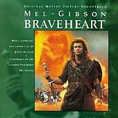 Paramount™ BRAVEHEART (Vol. 1) Original Soundtrack Album RARE VINTAGE CD