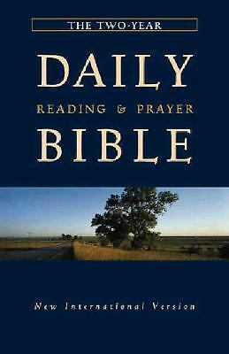 The Two Year Daily Reading & Prayer Bible, Zondervan, Good Book