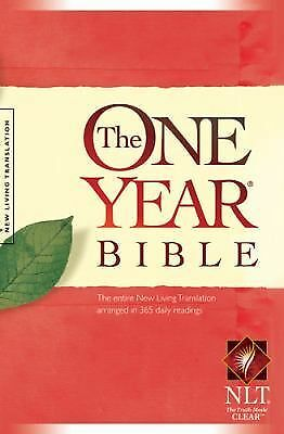 The One Year Bible NLT (One Year Bible: New Living Translation-2), , Good Book