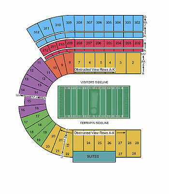 Maryland Terrapins Football vs Indiana Hoosiers Tickets 11/21/15 (College Park)