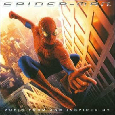 Columbia™ SPIDER-MAN Original Soundtrack Album RARE VINTAGE CD