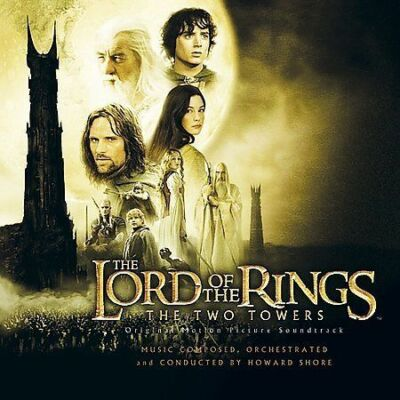 New Line™ THE LORD OF THE RINGS Original Soundtrack Album RARE VINTAGE CD