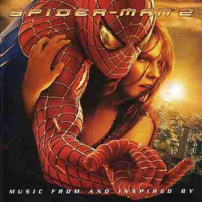 Columbia™ SPIDER-MAN 2 (Songs) Original Soundtrack Album RARE VINTAGE CD