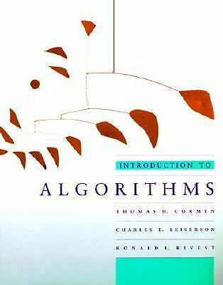 Introduction to Algorithms (MIT Electrical Engineering and Computer Science) by