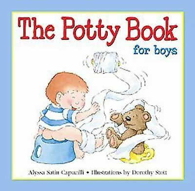 The Potty Book - For Boys, Alyssa Satin Capucilli, Very Good Book