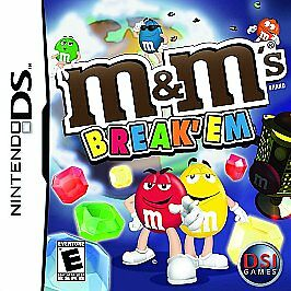 "M & Ms  ""Break 'Em"" - Nintendo DS, Good Nintendo DS, Nintendo DS Video Games"