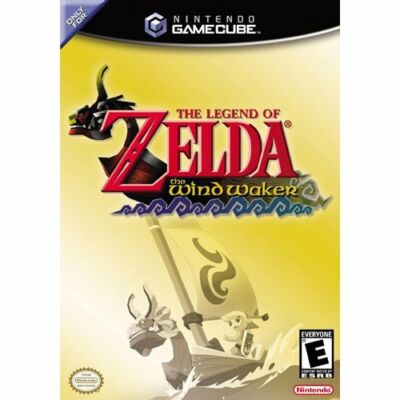 The Legend of Zelda: The Wind Waker New / Sealed  Black Label Nintendo GameCube