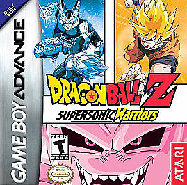 Dragon Ball Z: Supersonic Warriors - Game Boy Advance GBA Game