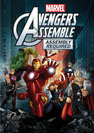 Marvel Avengers Assemble: Assembly Required, Good DVD, Laura Bailey, Bumper Robi