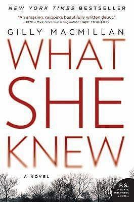 What She Knew: A Novel, Macmillan, Gilly, Good Book