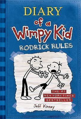 Rodrick Rules Diary of a Wimpy Kid, Book 2