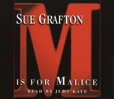 M Is For Malice Sue Grafton
