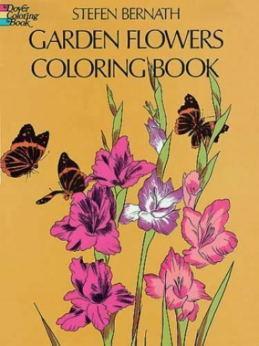 Garden Flowers Coloring Book Dover Nature Coloring Book