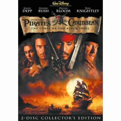 Pirates of the Caribbean: The Curse of the Black Pearl (DVD, 2003, 2-Disc Set, …