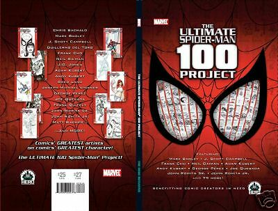 The Ultimate Spider-Man 100 Project HC