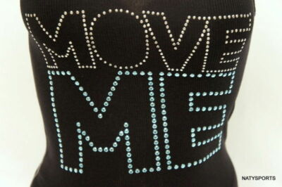Zumba Move Me Studded Ribbed Tank Zumbawear Top XXL  or S  (save a dog)
