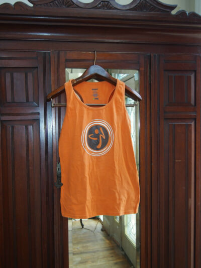 Zumba  Racerback SUPER RARE XL  (100% price for animal charity)