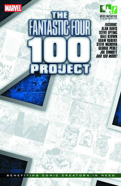 THE FANTASTIC FOUR 100 PROJECT (hardcover)