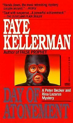 Day of Atonement by Faye Kellerman (1992, Paperback)