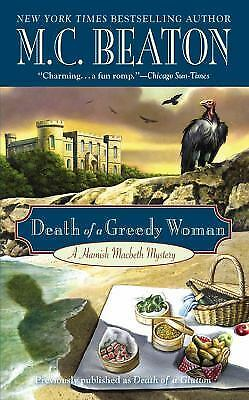 Death of a Greedy Woman by M. C. Beaton (2011, Paperback)