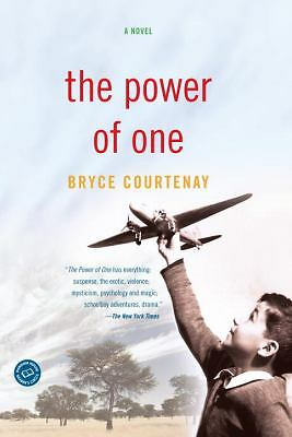 The Power of One: A Novel, Bryce Courtenay, Acceptable Book