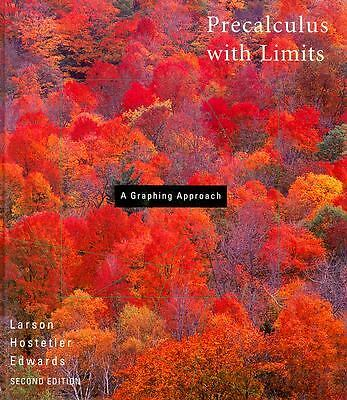 Precalculus With Limits: A Graphing Approach, Ron Larson, Robert P. Hostetler, B