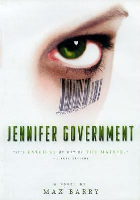 Jennifer Government by Barry, Max