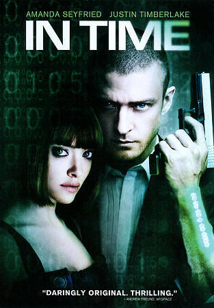 In Time, Good DVD, Amanda Seyfried, Justin Timberlake, Andrew Niccol