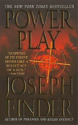 Power Play by Joseph Finder (2008, Paperback)