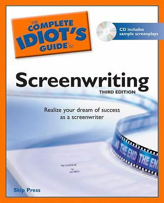 The Complete Idiot's Guide to Screenwriting, 3rd Edition, Press, Skip, Good Book