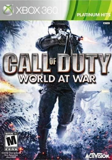 Call of Duty: World at War [Platinum Hits]  (Xbox 360, 2010) MINT flamethrower