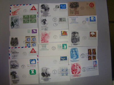 LOT OF 100 UNADDRESSED US FDC ITEMS -NOW REFRESHED WITH MANY NEW COVERS