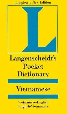 Langenscheidt's Pocket Dictionary Vietnamese/ English, English, Vietnamese, Lang