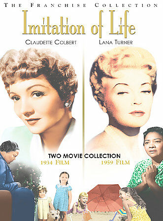 Imitation of Life (1934/1959) by Claudette Colbert, Lana Turner, Louise Beavers