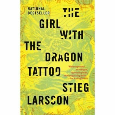 The Girl with the Dragon Tattoo (Vintage), Stieg Larsson, Very Good Book