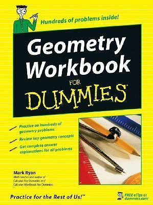 Geometry Workbook For Dummies by Ryan, Mark
