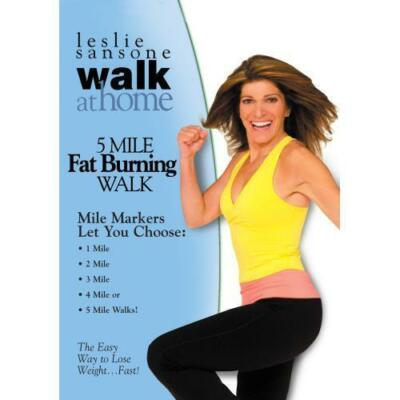 Leslie Sansone: Walk at Home - 5 Mile Fat Burning Walk by Leslie Sansone