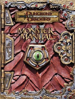 Monster Manual II (Dungeons & Dragons d20 3.0 Fantasy Roleplaying Supplement) b
