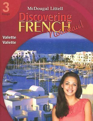 Discovering French Nouveau: Student Edition Level 3 2007 (McDougal Littell Disc