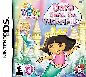 Dora the Explorer: Dora Saves the Mermaids  (Nintendo DS, 2007)