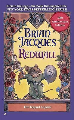 Redwall 1 by Brian Jacques (1998, Paperback, Anniversary)