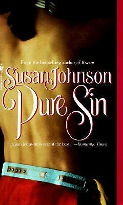 Pure Sin by Susan Johnson (1994, Paperback)