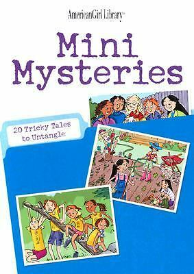 Mini Mysteries: 20 Tricky Tales to Untangle (American Girl) (American Girl Libra