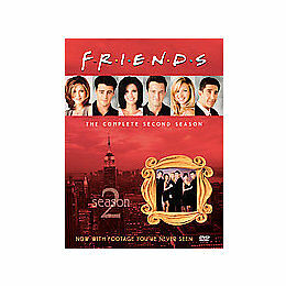 FRIENDS-COMPLETE 2ND SEASON (DVD/4 DISC)-NLA by