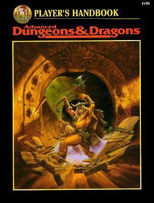 Player's Handbook Advanced Dungeons & Dragons (2nd Ed Fantasy Roleplaying) by C