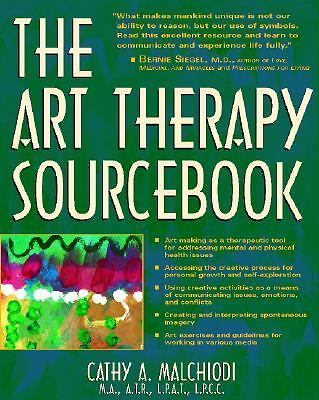 The Art Therapy Sourcebook, Malchiodi, Cathy, Good Book