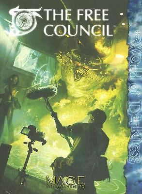 Mage The Free Council (Mage: the Awakening), Steve Kenson, Will Hindmarch, Jess