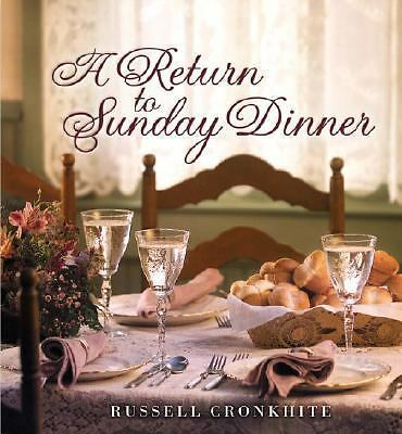 A Return to Sunday Dinner, Russell Cronkhite, Good Book
